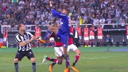 Confira os lances em que Muralha foi exigido contra o Botafogo