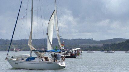 Programa confere a regata Aratu-Maragojipe