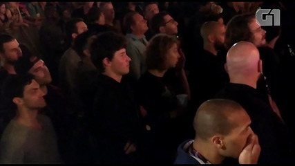 Shawn Mendes assiste ao show de Alicia Keys no Rock In Rio