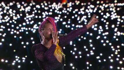 Alicia Keys encanta o público no Rock in Rio