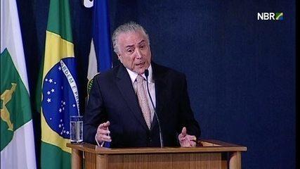 Temer lembra mulheres em altos cargos no sistema jurídico brasileiro