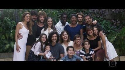 Rimena e Gustavo comemoram retorno ao Brasil ao lado da família