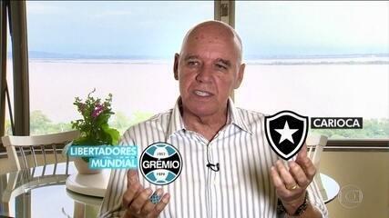Valdir Espinosa relembra conquistas históricas por Grêmio e Botafogo
