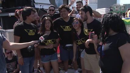 Peruanos vêm ao Rock in Rio ver Aerosmith
