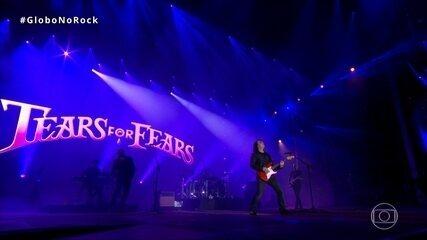 Tears For Fears canta 'Secret world' no Palco Mundo do Rock in Rio
