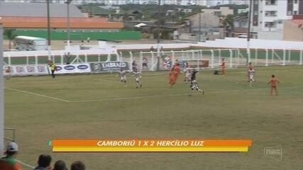 Veja os gols das semifinais da Série B do Catarinense 2017