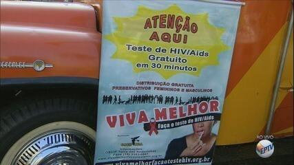 ONG e Prefeitura de Campinas promovem testes de HIV gratuitos nesta terça