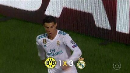 Real Madrid, Porto e Manchester City vencem pela Liga dos Campeões