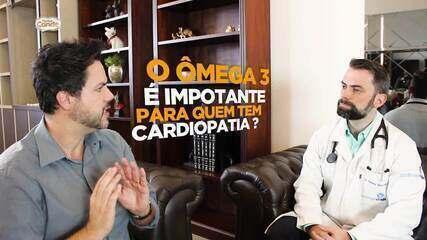 Cardiologista falsa sobre os benefícios do Ômega 3 ao coração