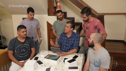 Missão Digital ajuda na organização de uma república de universitários