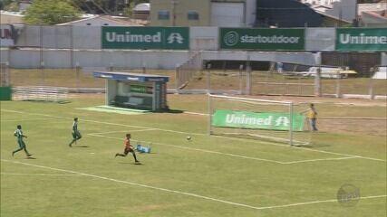 Poços de Caldas sofre gol nos acréscimos e fica no empate com o Ponte Nova no Ronaldão
