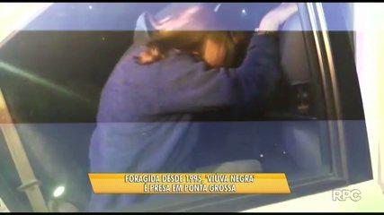 Foragida há 21 anos, 'viúva negra' é presa no bairro Nova Rússia em Ponta Grossa