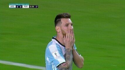 Melhores momentos: Argentina 0 x 0 Peru pelas Eliminatórias da Copa da Rússia