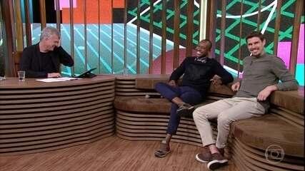 Thiaguinho e Bruninho ensinam tutorial de como se comportar bem no WhatsApp