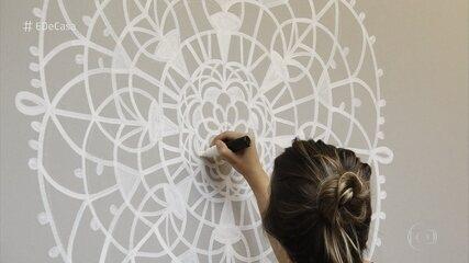 Designer ensina a fazer decoração inspirada em renda