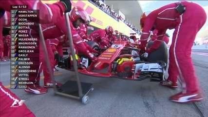 Ferrari chama e Sebastian Vettel vai abandonar o GP do Japão de Fórmula 1
