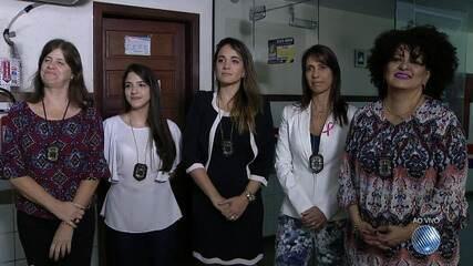 Delegadas ficam 24 horas de plantão para ajudar mulheres que são violentadas ou assediadas