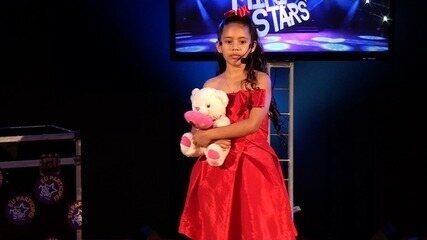 Apresentação de Stefane de Sousa na terceira fase do Mini Stars