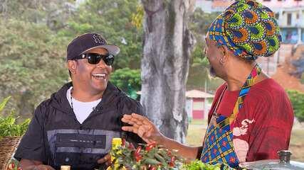 'Conversa na Cozinha': o ator-chefe Jorge Washington recebe Márcio Victor