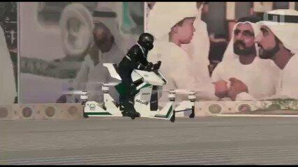 """Polícia de Dubai terá """"moto voadora"""""""