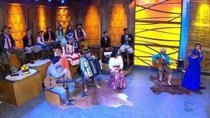 'Galpão Crioulo' termina com Maria Alice, Yangos e Luiz Carlos Borges (bloco 4)