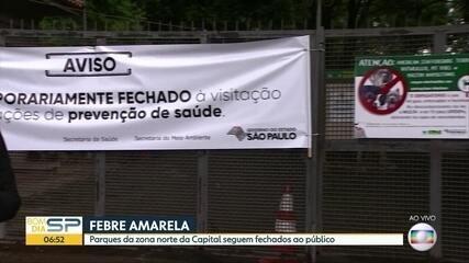 Horto Florestal e Parque da Cantareira continuam fechados e sem previsão de reabertura apó