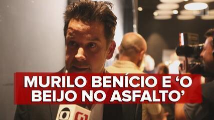 Murilo Benício e Débora Fallabela falam de 'O beijo no asfalto'