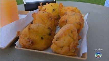Bolinho de frango é tradição na culinária de Itapetininga