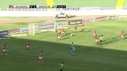 Melhores momentos: Boa Esporte 2 x 2 América-MG pela 32ª rodada do Brasileirão Série B