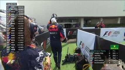 Ricciardo abando GP do México