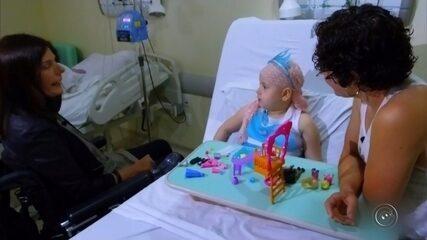 Menina  motivou fila gigante para doação de medula
