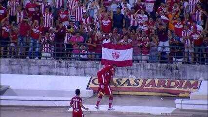 Jogada do primeiro gol contra o Juventude é exemplo da função tática de Danilo Pires