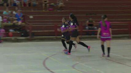 Após sete anos sem competir, Sena goleia no Acreano de Futsal Feminino