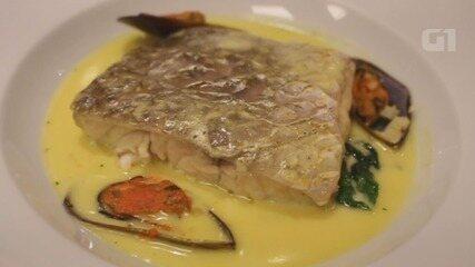 Culinária #013: Aprenda a fazer um peixe com creme de vinho branco