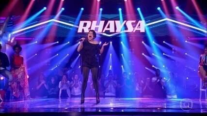 """Rhaysa canta """"Axé Acappella"""""""