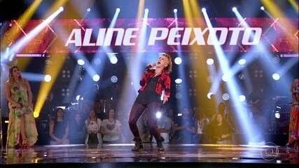 Aline Peixotosoltou a voz em 'Higher Ground'