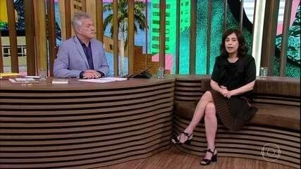 Fernanda Torres fala sobre sucesso teatral e polêmica nas redes sociais