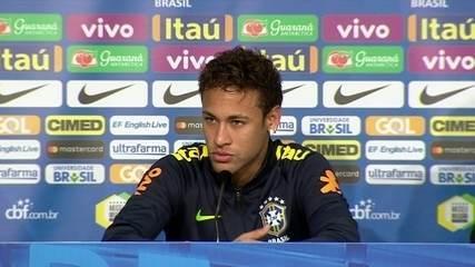 Após vitória em amistoso da Seleção, Neymar nega problemas de relacionamento no PSG