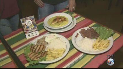 Festival 'Saia para Jantar' tem pratos a partir de R$ 19,90 em São Carlos, SP