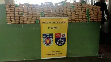 Polícia apreende 300 kg de maconha em São Miguel dos Campos
