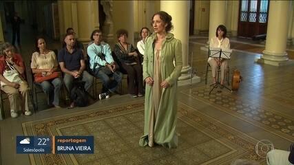 Peça de teatro fala sobre a importância da Imperatriz Maria Leopoldina