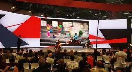 Salão Duas Rodas 2017: Honda apresenta nova Biz