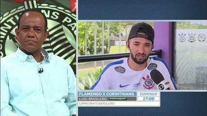 Clayson diz que não merecia suspensão por um jogo após briga com Felipe Melo