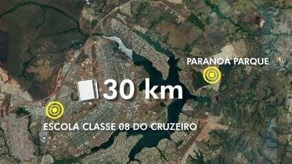 Aluno desmaia de fome em sala de aula no Cruzeiro