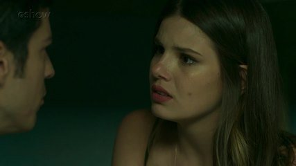 Teaser 'Pega Pega' 21/11: Luíza e Eric conversam sobre plano
