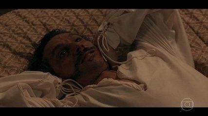 Geraldo surpreende Maria Teresa com confissão