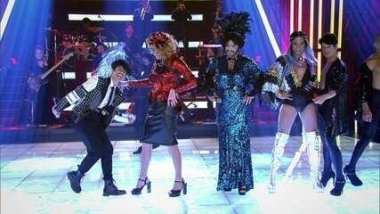 Adnet, Silvero Pereira e André Marques viram drag queens e Camila Pitanga vira drag king