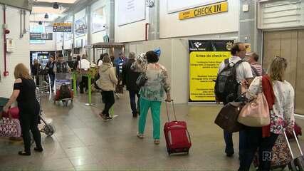 Obras na pista do aeroporto de Foz do Iguaçu suspendem vôos noturnos