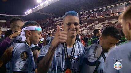 Autor de gol na partida, Luan fala após conquistar a Libertadores 2017