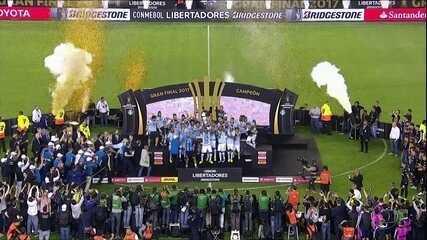 Grêmio vence Lanús e conquista o tri da Libertadores na Argentina